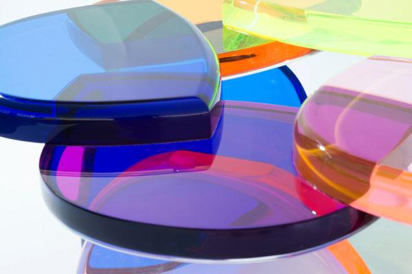 Lucite Coffee table BonBon by M. Pettinari
